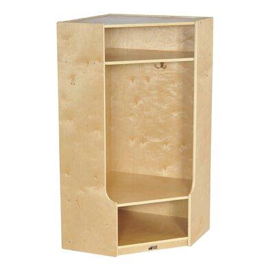 ECR4kids Corner Section Locker with Bench