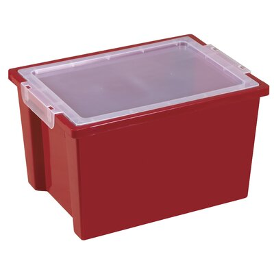 ECR4kids Large Storage Bin with Clear Lid