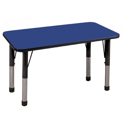"ECR4kids 24"" x 48"" Rectangular Adjustable Activity Table"