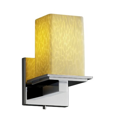 Justice Design Group Fusion Montana 1 Light Wall Sconce