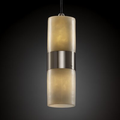 Justice Design Group CandleAria 2 Light Pendant