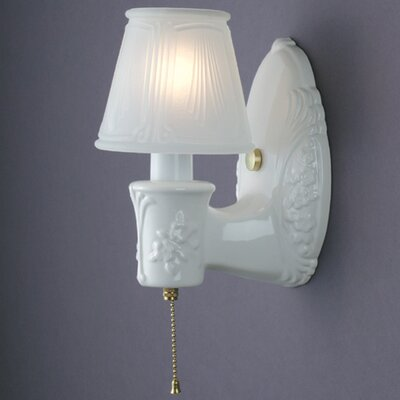 Justice Design Group American Classics  1 Light Wall Sconce