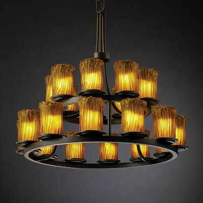 Veneto Luce Dakota 21 Light Chandelier