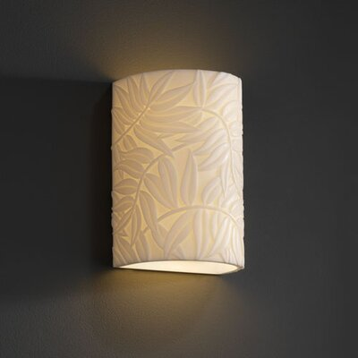 Justice Design Group Porcelina 2 Light Wall Sconce
