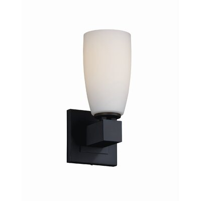 Justice Design Group Fusion Aero 1 Light Wall Sconce