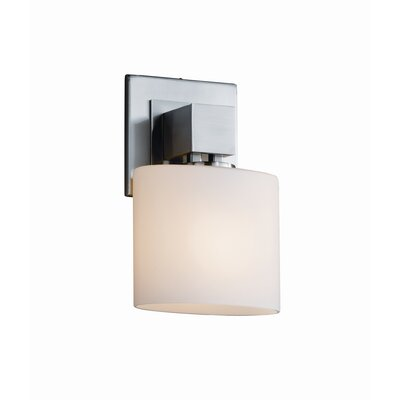Justice Design Group Aero Fusion ADA 1 Light  Wall Sconce