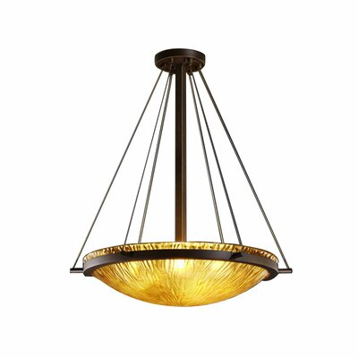 Veneto Luce 6 Light Inverted Pendant