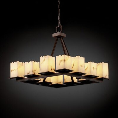Justice Design Group LumenAria Montana 20 Light Chandelier