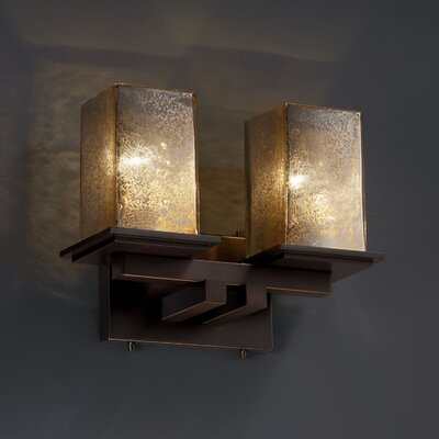 Justice Design Group Fusion Montana 2 Light Bath Vanity