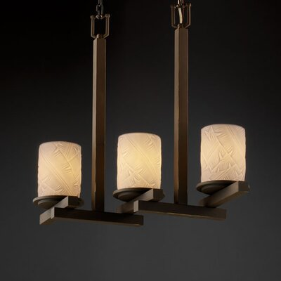 Limoges Dakota 3 Light Chandelier