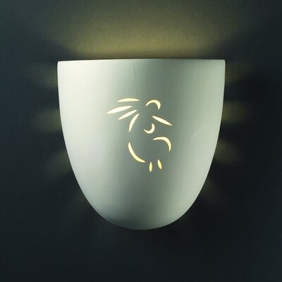 Justice Design Group Sun Dagger Pocket 1 Light Outdoor Wall Sconce