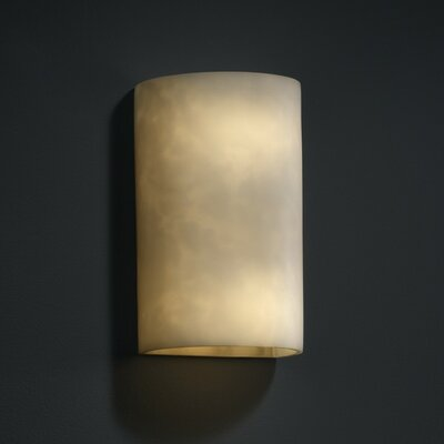 Justice Design Group Clouds 1 Light Wall Sconce