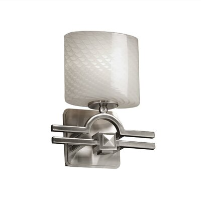 Justice Design Group Fusion Argyle 1 Light Wall Sconce