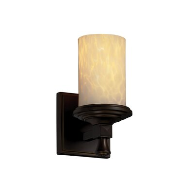 Justice Design Group Deco Fusion 1 Light Wall Sconce