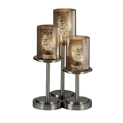 Justice Design Group Fusion Dakota 5 Light Zig-Zag Chandelier
