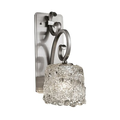 Justice Design Group Veneto Luce Victoria 1 Light Wall Sconce