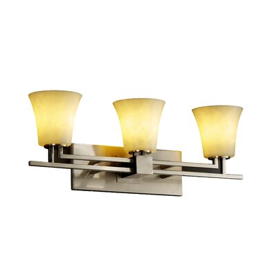 Justice Design Group Clouds Aero 3 Light Bath Vanity Light