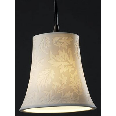 Justice Design Group Limoges 1 Light Pendant