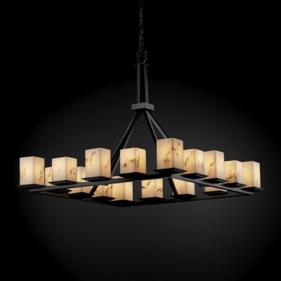 Justice Design Group Montana LumenAria 16 Light Chandelier