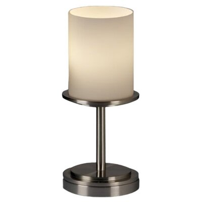 <strong>Justice Design Group</strong> Fusion Dakota 1 Light Portable Table Lamp