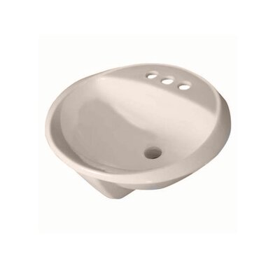 Crane Faucet Galaxy/Cranada Drop In Bathroom Sink