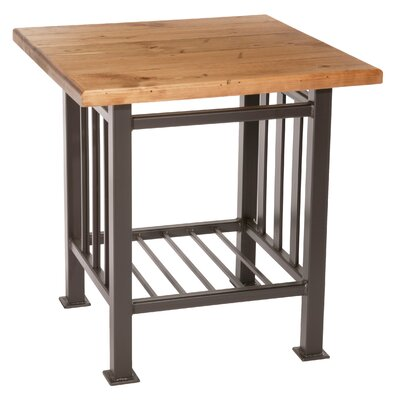 Stone County Ironworks Mission End Table