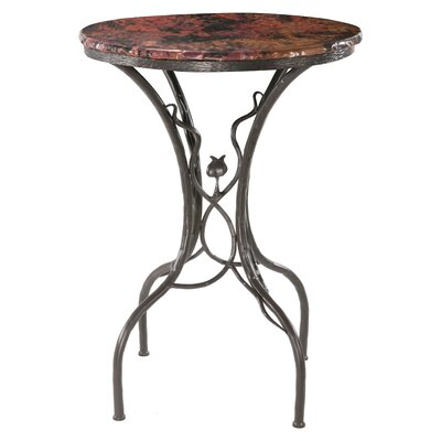 "Stone County Ironworks Sassafras 40"" Bar Table in Fired Copper"