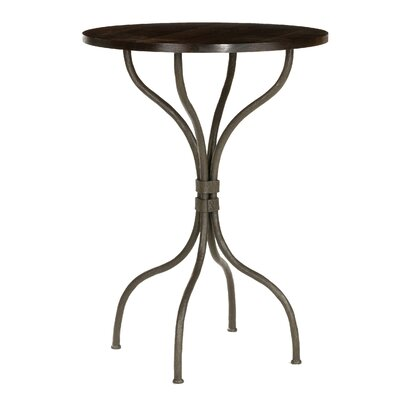 "Stone County Ironworks Cedarvale 36"" Bar Table in Walnut"