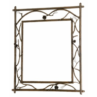 Stone County Ironworks Pine Branched Small Wall Mirror