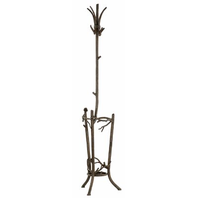 Stone County Ironworks Coat Rack with Umbrella Stand