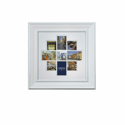Mikasa 9 Opening Crown Wall Collage Trip Picture Frame