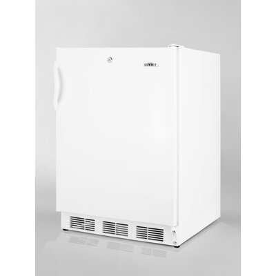Refrigerator Freezer in White