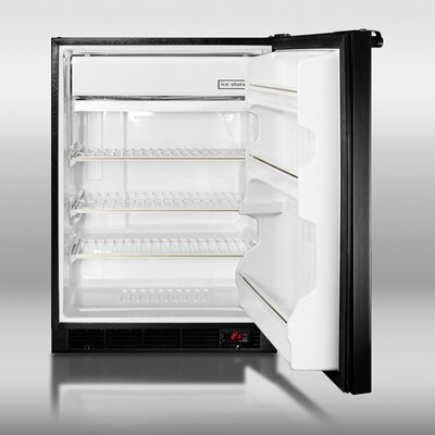 Summit Appliance 6.1 Cu. Ft. Compact Refrigerator with freezer