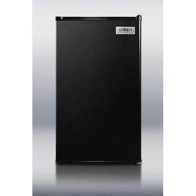 "Summit Appliance 35.5"" x 18.75"" Refrigerator Freezer in Black"