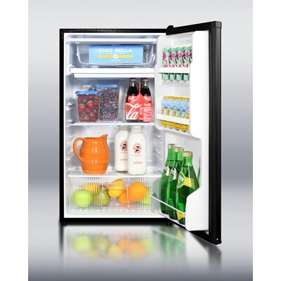 "Summit Appliance 32"" x 18.75"" Refrigerator Freezer in Black"