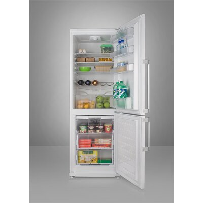 "Summit Appliance 73.5"" x 23.63"" Refrigerator Freezer in White"