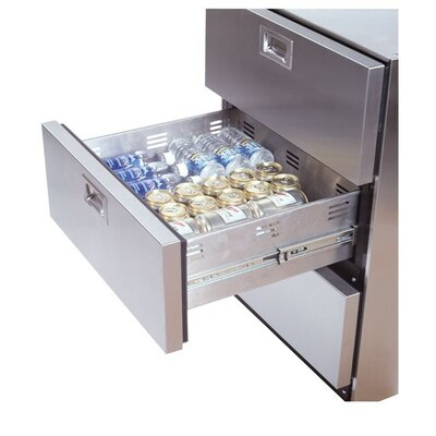 Summit Appliance Refrigerator in Stainless Steel