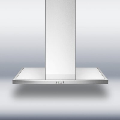 "Summit Appliance 36"" European Style Wall Mount Range Hood"