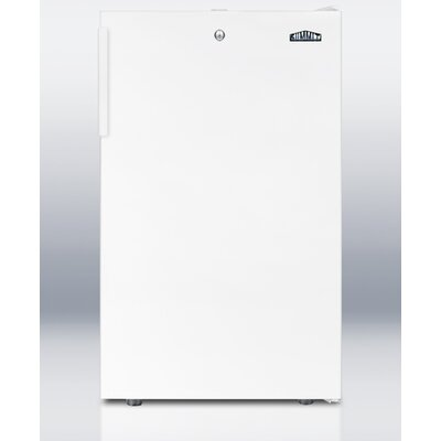 Summit Appliance 4.1 Cu.Ft. Compact All Refrigerator in White Cabinet