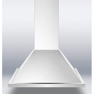 "Summit Appliance 24"" 500 CFM European Style Wall Mount Range Hood"