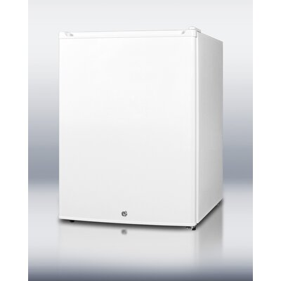Compact All-Refrigerator in White