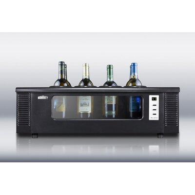 Summit Appliance 8-BottleThermoelectric Wine Chiller for Countertop Use