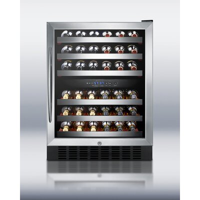 Summit Appliance Dual Zone Built-in Wine Cellar