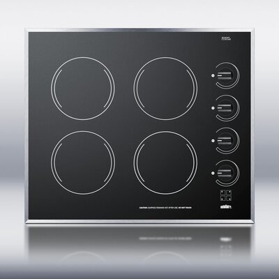 """Summit Appliance 24"""" Electric Cooktop"""
