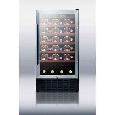 Summit Appliance 34 Bottle Single Zone Wine Refrigerator