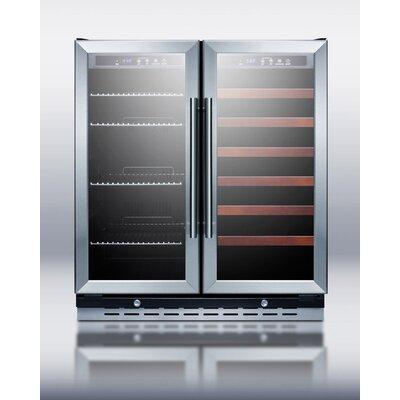 Summit Appliance Dual Zone Wine Refrigerator