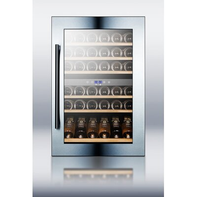 Summit Appliance Fully Integrated Dual Zone Wine Cellar