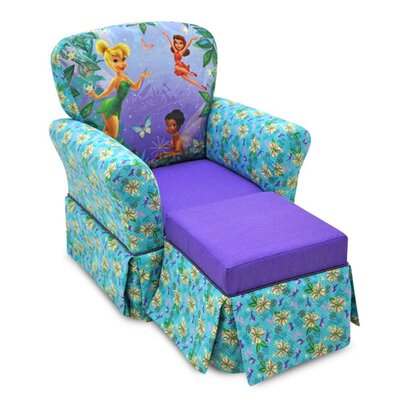 KidzWorld Disneys Kids Rocking Chair & Ottoman Set & Reviews ...