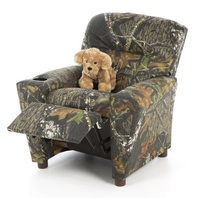 Kidz World Mossy Oak Camouflage Children's Recliner