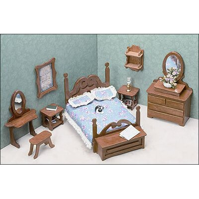 Greenleaf Dollhouses Bedroom Furniture Kit